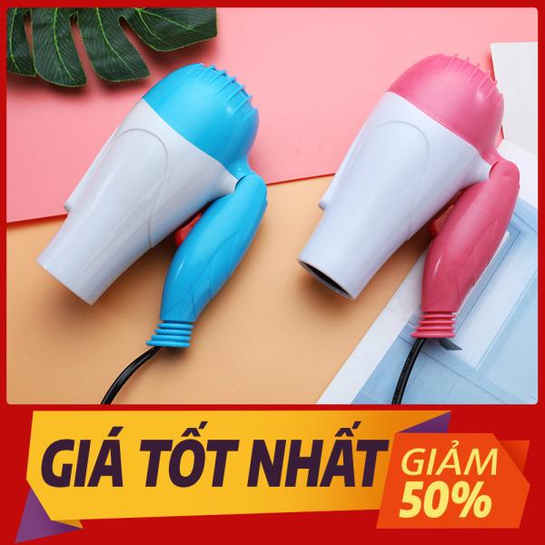 Máy sấy tóc mini , công suất mạnh 1000w đa năng cao cấp tiện dụng mang di du lịch - Giá Sập Sàn cao cấp