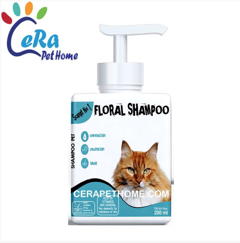 Sữa Tắm Thơm Lâu Dành Riêng Cho Mèo - Floral Shampoo 200ML