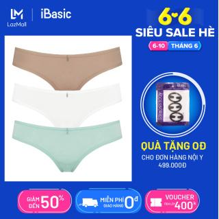 Set 3 quần lót nữ thun bikini iBasic PANW088 thumbnail