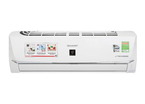 Bảng giá Máy lạnh Sharp Wifi Inverter 1 HP AH-XP10WHW - Chế độ Breeze (gió tự nhiên), Trí thông minh nhân tạo AIoT kết nối điện thoại để kiểm soát nhiệt độ và vận hành ổn định, Phát ion lọc không khí