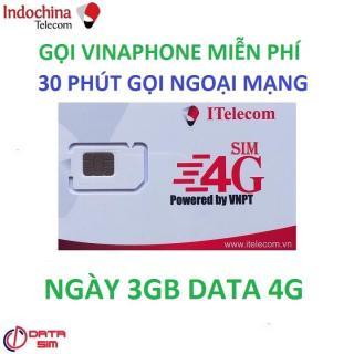 SIM ITELECOM VINAPHONE NỘI MẠNG MIỄN PHÍ 90GB 30 PHÚT GỌI NGOẠI MẠNG 0Đ thumbnail