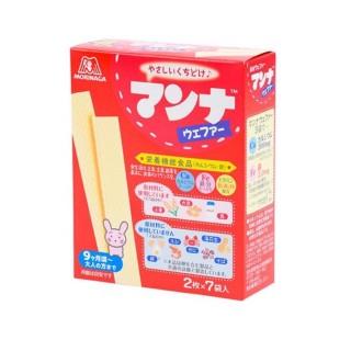 Bánh ăn dặm Morinaga cho bé 9 tháng tuổi hộp 7 gói - Bánh xốp dinh dưỡng cho bé ăn dặm Nhật Bản - VTP Mẹ và bé TXTP010 thumbnail