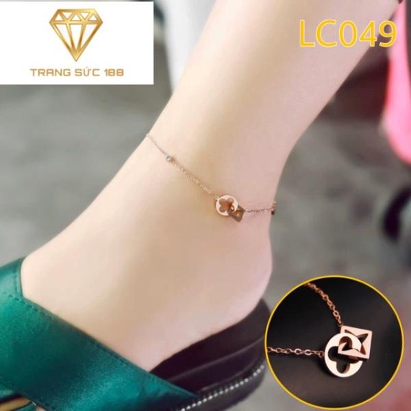 Lắc chân titan thời trang LC049