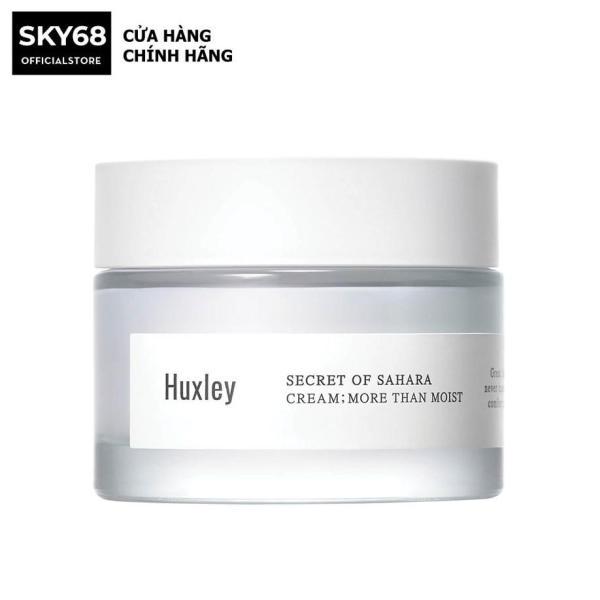 Kem dưỡng ẩm sâu Chống Lão Hóa Da Chiết Xuất Xương Rồng Huxley Secret Of Sahara Cream; More Than Moist 50ml