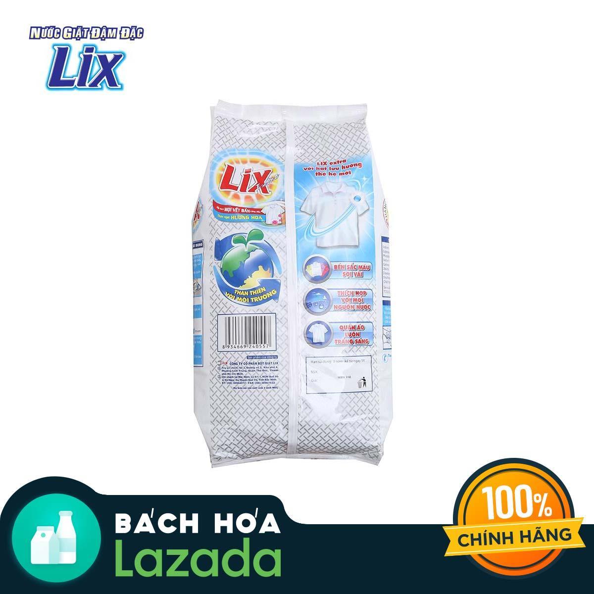 Mã Khuyến Mãi tại Lazada cho Bột Giặt Lix Extra Đậm Đặc 6kg