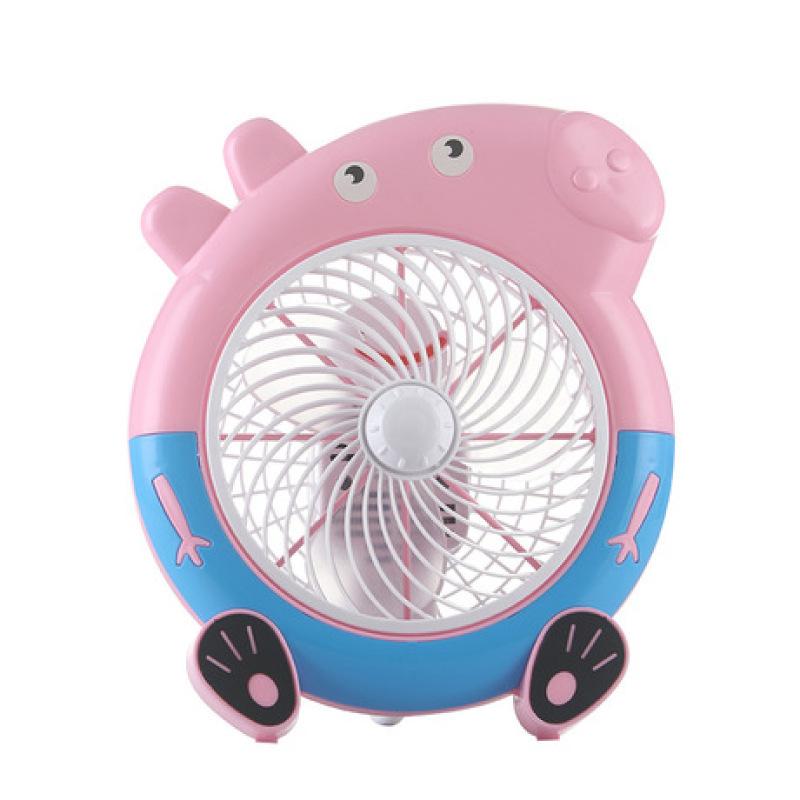 Quạt điện có dây để bàn hình lợn Peppa Pig
