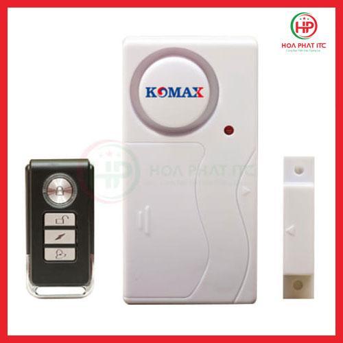 Thiết bị chống trộm gắn cửa kèm remote Komax KM-C05