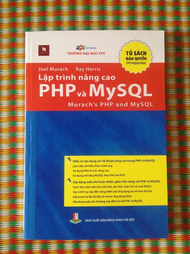 Mua LẬP TRÌNH NÂNG CAO PHP VÀ MYSQL