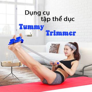 Dụng cụ tập thể dục đa nang - Lò xo tập bụng Tummy trimmer - Dây kéo đa năng - Tặng kèm tài liệu hướng dẫn tập luyện thumbnail