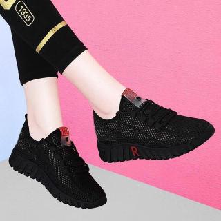 Giày sneaker thể thao nữ hàn quốc buộc dây siêu nhẹ V254 thumbnail