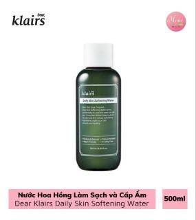 Nước Hoa Hồng Làm Sạch và Cấp Ẩm Dear Klairs Daily Skin Softening Water 500ml thumbnail