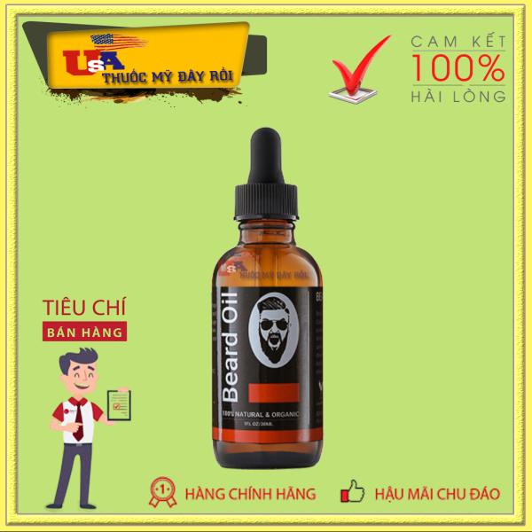 [30ML] Dầu Dưỡng Râu Beard Oil No.01 Mỹ giá rẻ