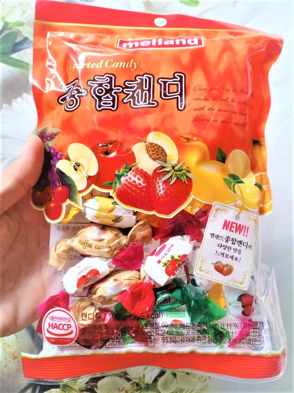 Kẹo Trái Cây Melland Hàn Quốc 100g