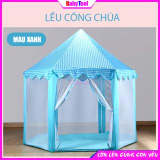 Lều Chơi Cho Bé Lều Công Chúa Cho Bé Hình Lục Giác Phong Cách Hàn Quốc-Màu Sắc Cổ Tích Siêu Đáng Yêu thumbnail
