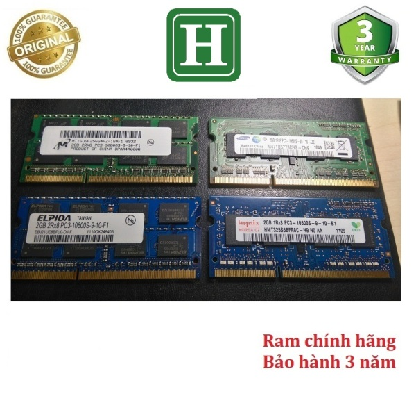 Bảng giá Ram Laptop DDR3 2Gb bus 1333 - 10600s bảo hành 3 năm Phong Vũ