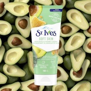[HCM]Sữa Rửa Mặt St.Ives Soft Skin Avocado Honey Scrub 170g thumbnail