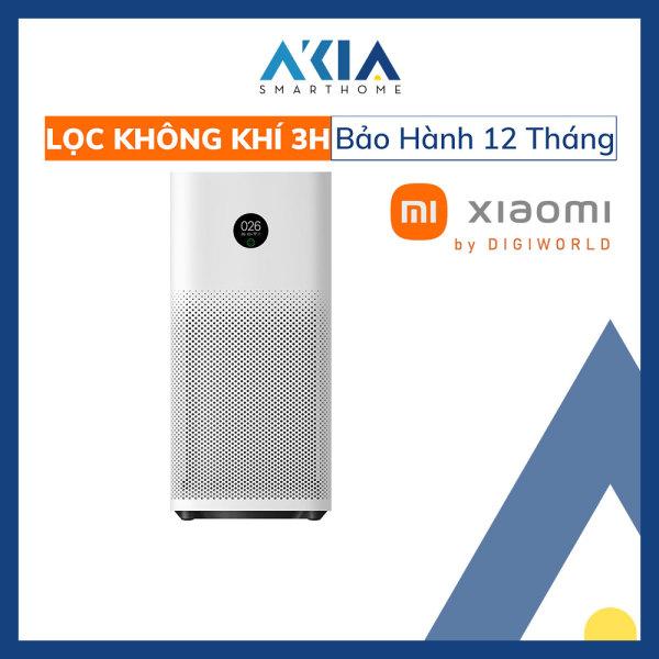 Máy Lọc Không Khí Xiaomi 3H / Xiaomi Mi Air Purifier 3C, Máy lọc không khí khử mùi diệt khuẩn, Bản quốc tế - Hàng Chính Hãng