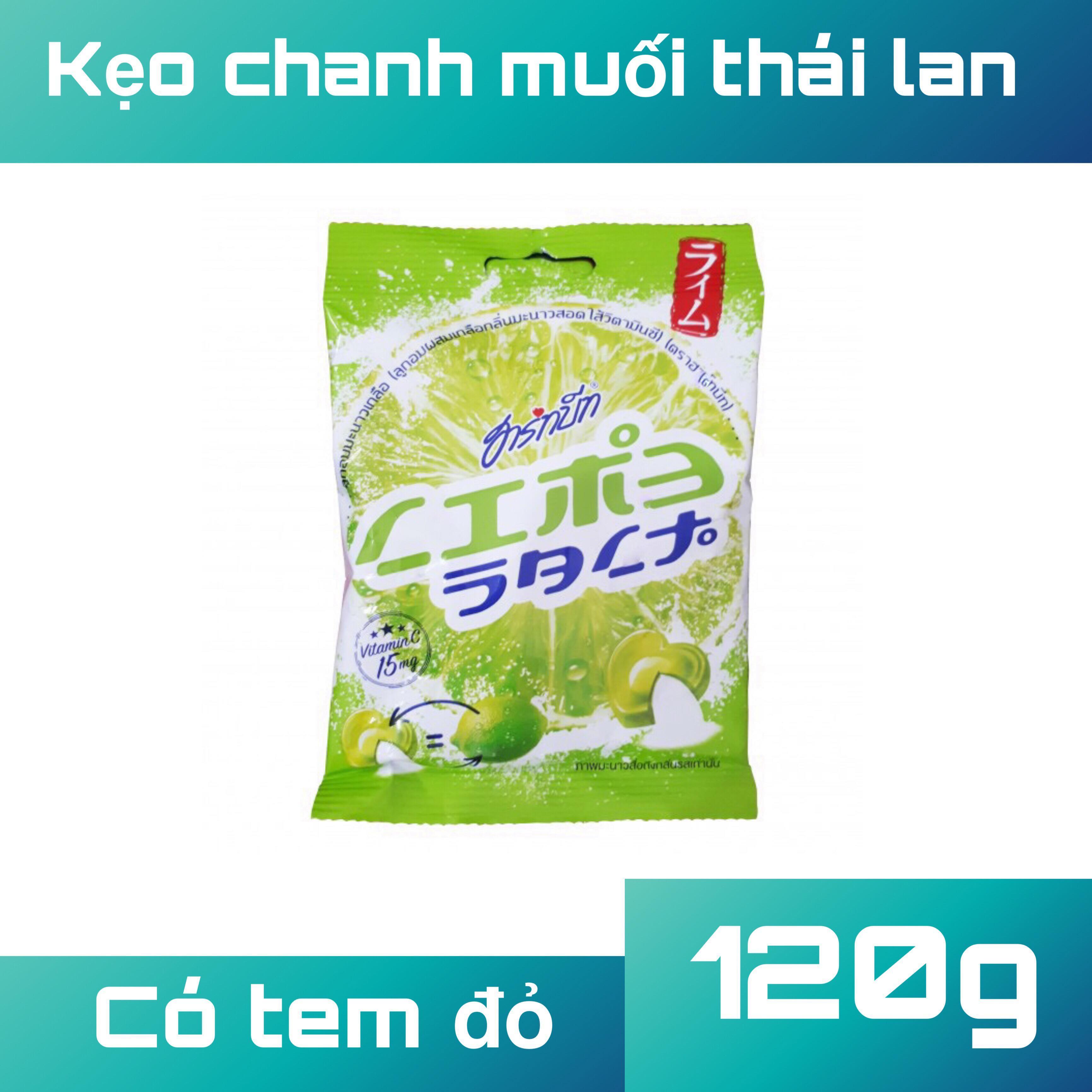 Kẹo chanh muối thái lan túi 120g
