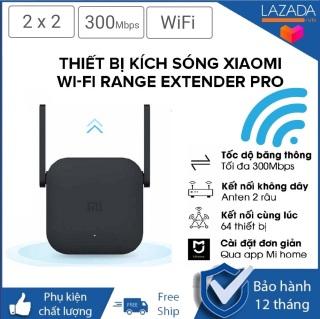 [BH 12 THÁNG] Bộ Kích Sóng WiFi Xiaomi - Thiết Bị Mở Rộng WiFi Xiaomi Mi Wifi Repeater Pro 300Mbps ,Chuẩn Wifi IEEE 802.11b g n, 2 Râu WiFi 2 2 DBI Antenna 2.4GHZ Giúp Tăng Khả Năng Phát Sóng Xuyên Tường thumbnail