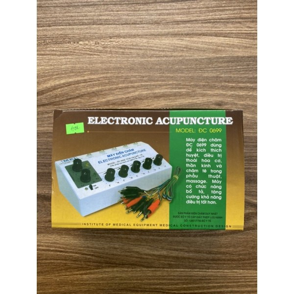 Nơi bán Máy điện châm MEI ĐC 0699 (5 giắc, 10 kim) - Việt Nam