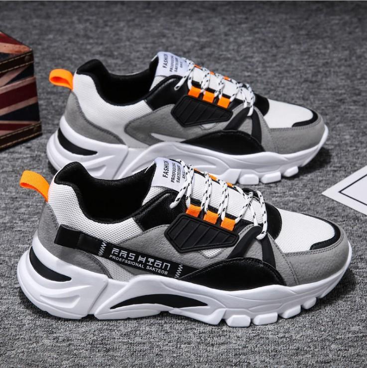 Giày nam phản quang SP - 344, giày Sneaker nam HOT 2021, đi êm chân, tăng 5cm chiều cao, giá tốt