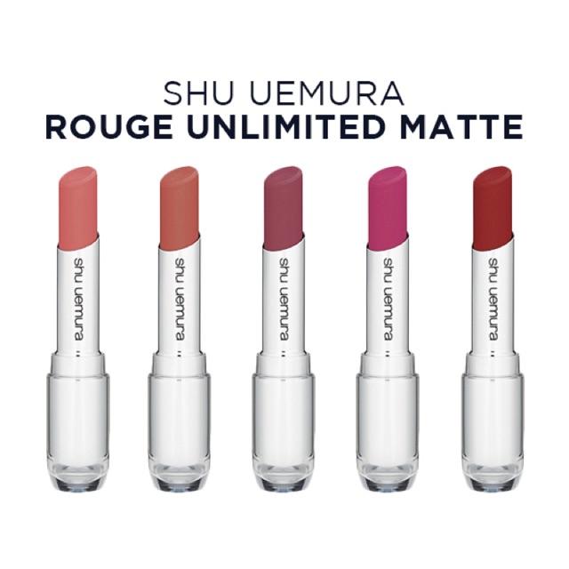 Son Shu Uemura Rouge Unlimited supreme matte, cam kết hàng đúng mô tả, chất lượng đảm bảo, an toàn đến sức khỏe người sử dụng