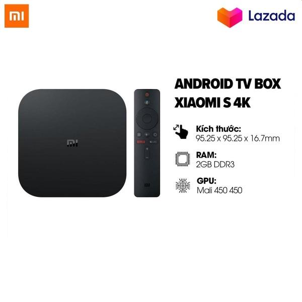 Bảng giá [BẢN Q TẾ-BH CHÍNH HÃNG] Android tivi box Xiaomi Mibox S 4K CPU 4X 2GB8GB Wifi Bluetooth 4.2 Quốc tế Tiếng Việt PFJ4090US | XIAOMI ECOSYSTEM STORE