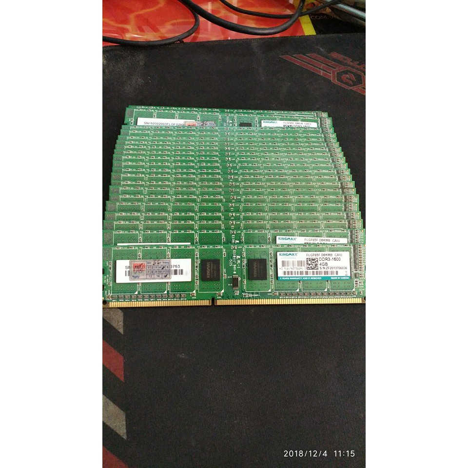 Giá KINGMAX 4GB DDR3 BUS 1600