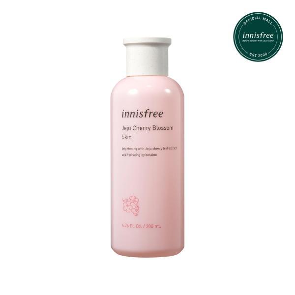 Nước cân bằng dưỡng ẩm sáng da từ hoa anh đào đảo Jeju innisfree Cherry Blossom Skin 200ml giá rẻ