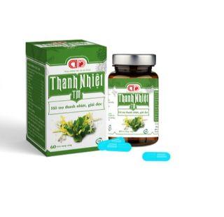 THANH NHIỆT TM - Hỗ trợ thanh nhiệt, giải độc, mát gan, làm giảm các triệu chứng nổi mề đay, mẩn ngứa, rôm sảy (60 viên) thumbnail