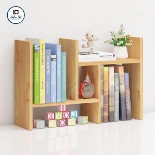 Giá sách bằng gỗ di động tiện lợi,dễ di chuyển,lắp ráp theo ý thích- Kệ sách gỗ JULIA LD thumbnail