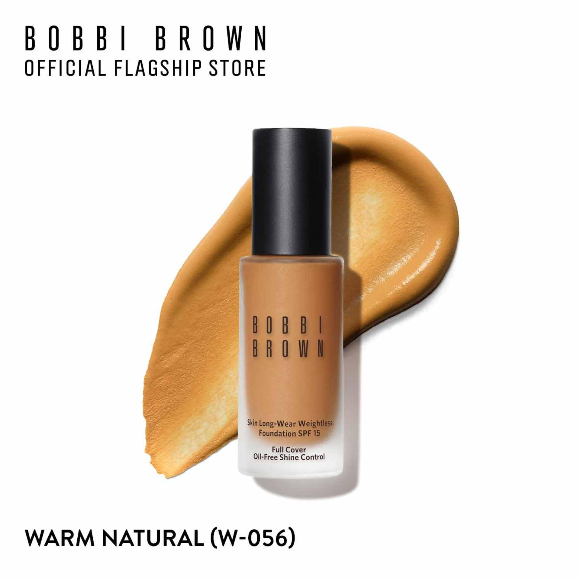 Kem nền kiềm dầu lâu trôi Bobbi Brown Skin Longwear Weightless Foundation SPF 15 30ml