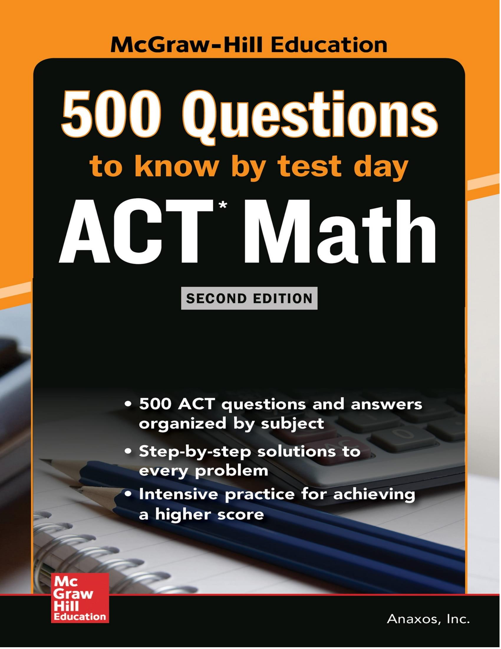 Mua 500 ACT Math Questions to Know by Test Day, Second Edition