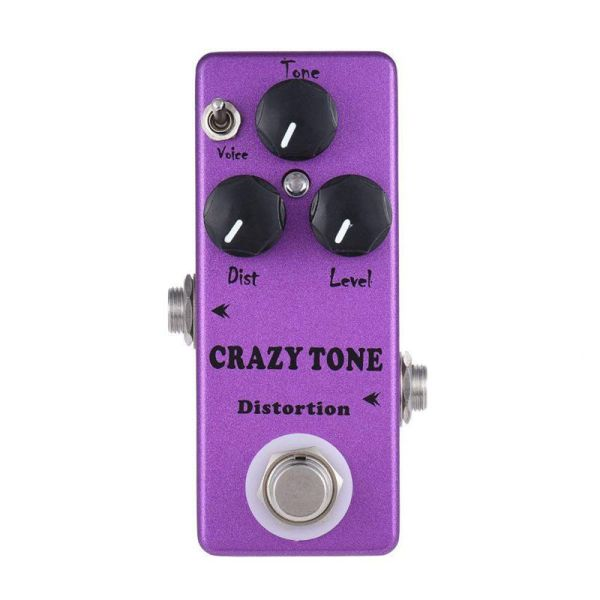 MOSKY MP-50 CRAZY TONE RIOT Distortion Mini Single Guitar Effect Pedal True Bypass