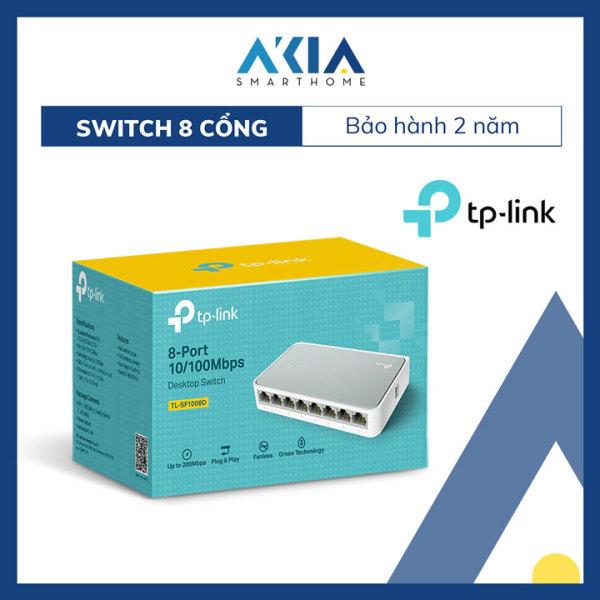 Giá Switch Chia Tín Hiệu Để Bàn 8 cổng 10/100Mbps TL-SF1008D - Hàng Chính Hãng
