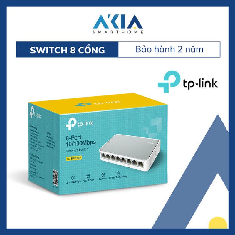 Bảng giá Switch Chia Tín Hiệu Để Bàn 8 cổng 10/100Mbps TL-SF1008D - Hàng Chính Hãng Phong Vũ