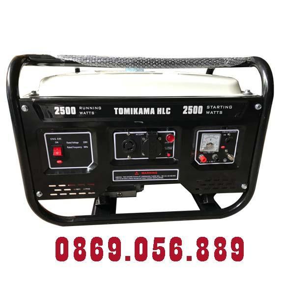 Máy Phát Điện Chạy Xăng 2.3KVA TOMIKAMA 2500