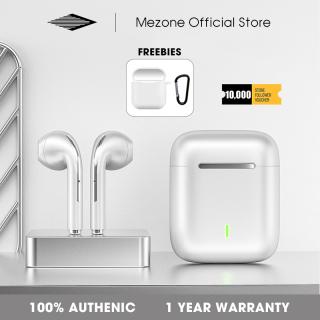 Tai Nghe Không Dây Mezone J18, Tai Nghe Bluetooth TWS Tai Nghe Nhét Tai Âm Thanh HIFI Có Mic Và Tai Nghe Điều Khiển Cảm Ứng Dành Cho Huawei Xiaomi Oppo Vivo Realme thumbnail