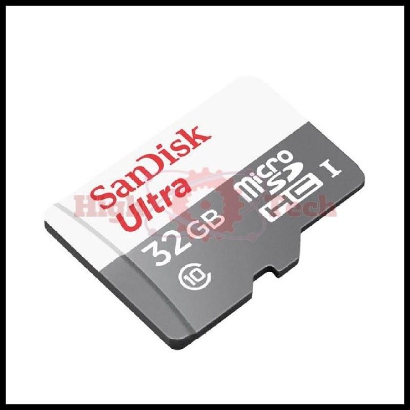 Thẻ nhớ micro SDHC Sandisk Ultra 32GB 80MB-s 533X tặng Cáp micro USB tròn Romoss