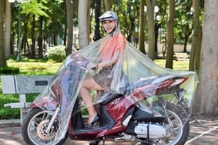 Áo mưa trong suốt 1 đầu/ 2 đầu - Áo mưa trong suốt 2 đầu có nón - Áo mưa có nón - Áo mưa vi sinh - Áo mưa đi xe máy - Áo mưa nam nữ cute