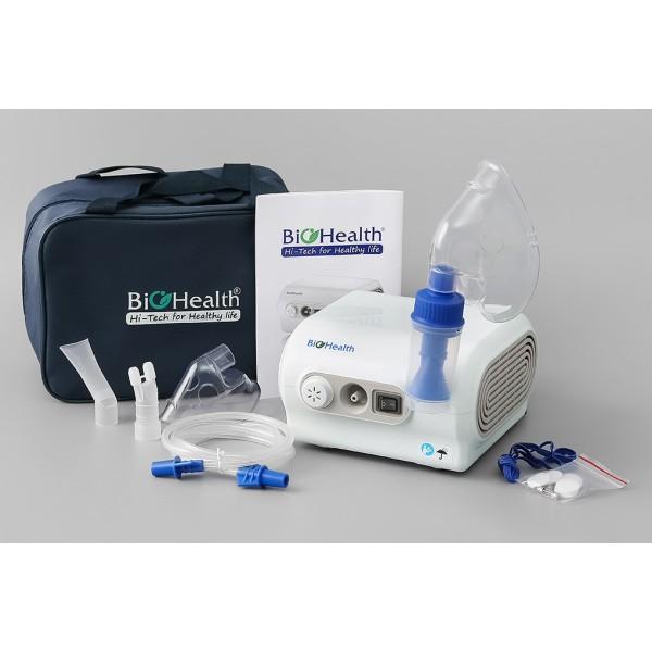 Máy xông khí dung xông mũi họng BIO HEALTH NEB PRO cao cấp