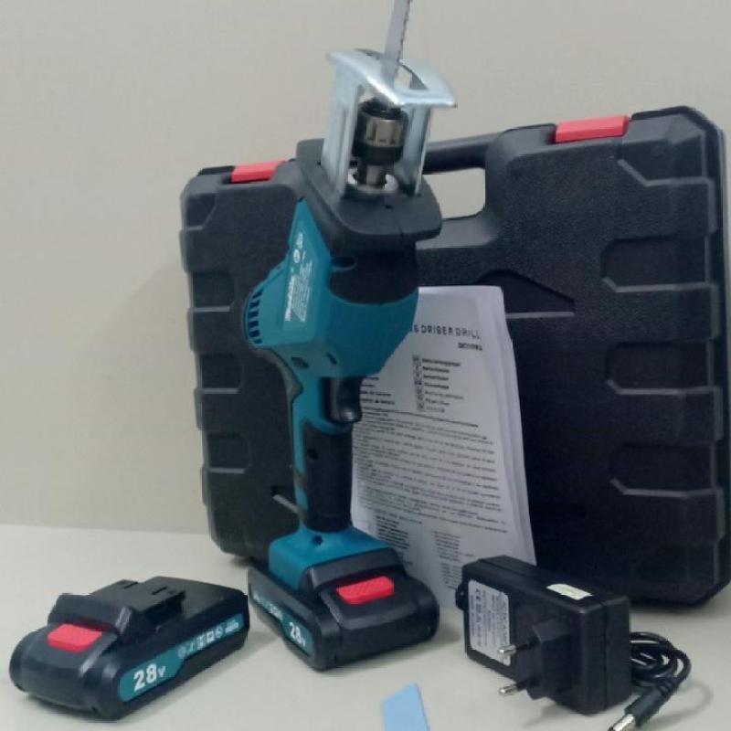 Máy cưa kiếm dùng pin Makita 26V 2 Pin hàng chuẩn loại 1, máy cưa kiếm đa năng thế hệ mới