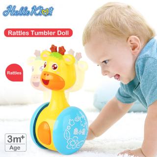 HelloKimi Đồ chơi trẻ em hình hươu cao cổ dễ thương thumbnail