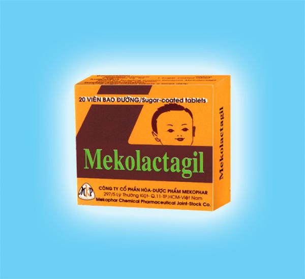 Bổ sung protein, kích thích tăng tiết sữa MEKOLACTAGIL (20 Viên)