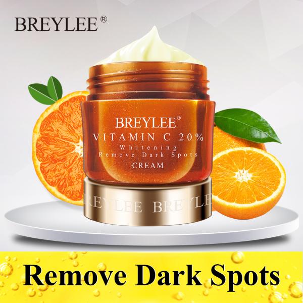 Kem dưỡng trắng da mặt Breylee chứa Vitamin C giảm thâm nám xóa tàn nhang làm đều màu da 40g