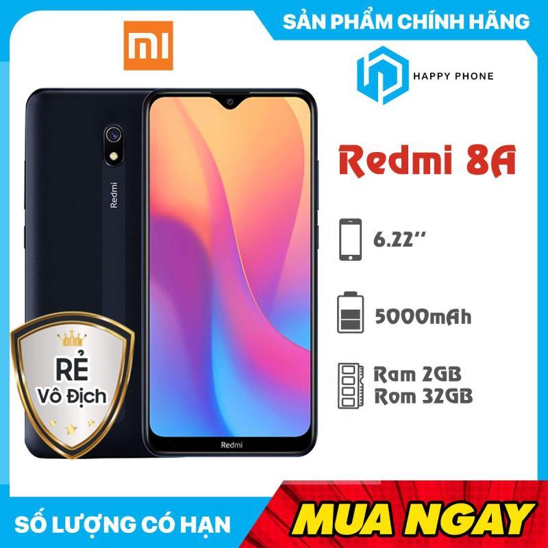 Điện  thoại Xiaomi Redmi 8A RAM 2GB ROM 32GB - Sẵn Tiếng Việt, Hàng mới 100%, Nguyên seal, Bảo hành 18 tháng
