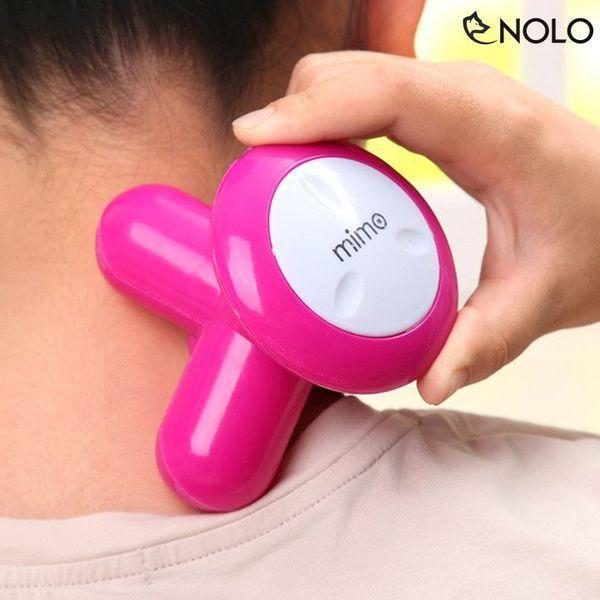 Máy Massage Mini Cầm Tay 3 Đầu, Máy Massage Cầm Tay Mini Dùng Pin, Máy Massage Cầm Tay