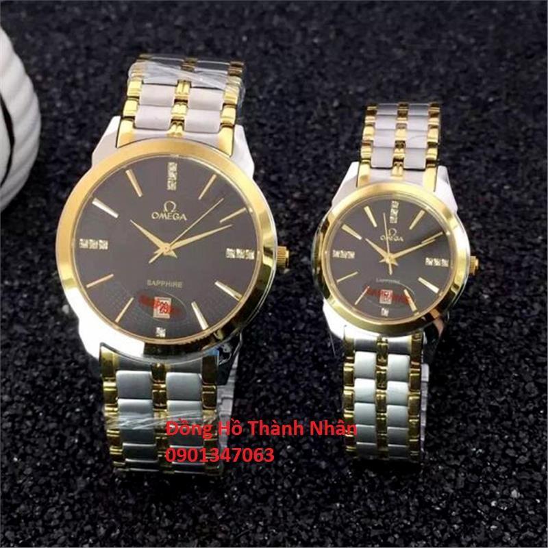 Đồng hồ nam omega kính saphia chống trầy xước bán chạy