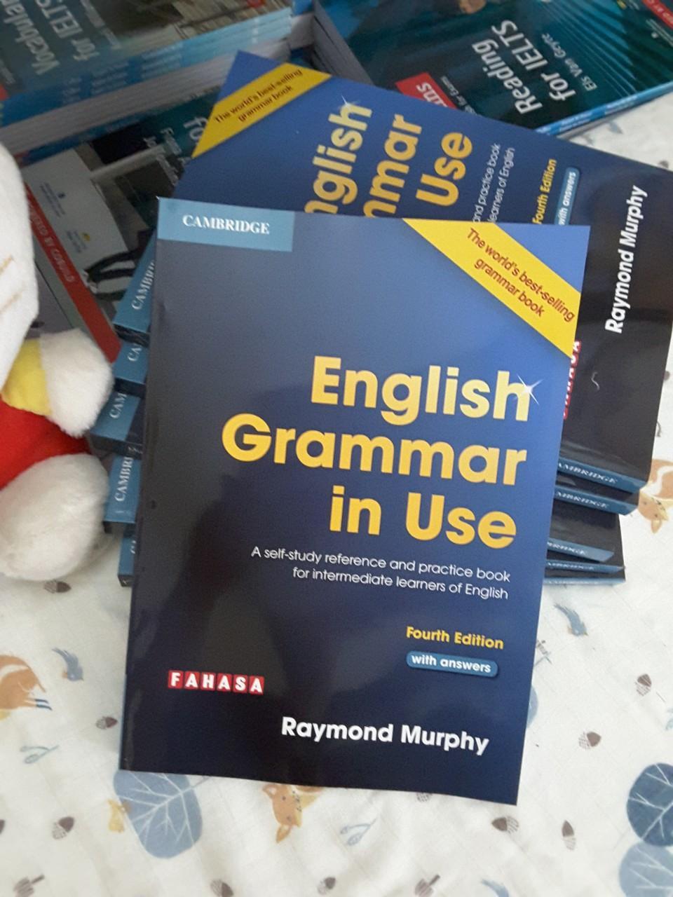 English Grammar In Use - IN Đen Trắng - FILE Gửi Gmail Không Thể Rẻ Hơn tại Lazada