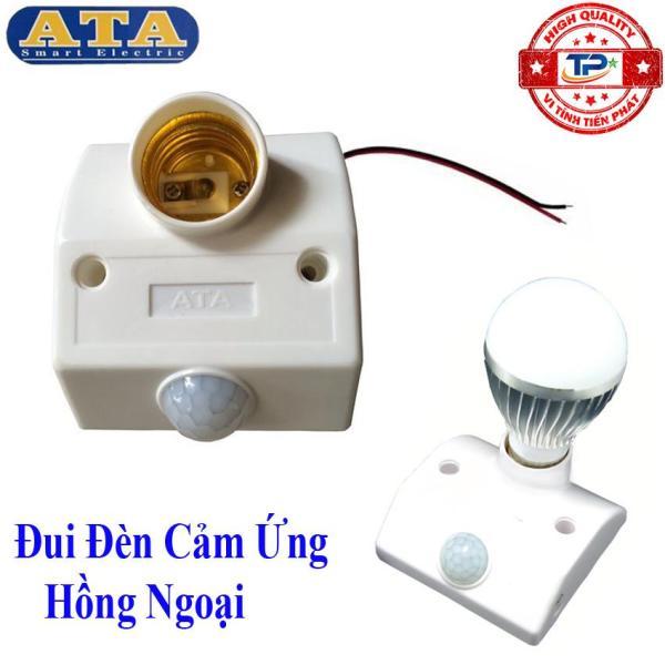 Đui đèn Cảm Ứng Hồng Ngoại hiệu ATA AT-18A - tự động bật sáng khi có người đến gần thắp sáng hoặc báo trộm thông minh